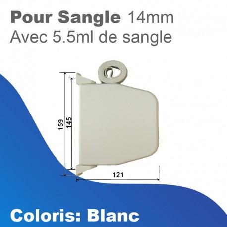 Mini Transmission Enrouleur Volets Volets Boite Sangle 11m Ceinture 14mm Braun