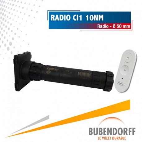 Moteur Bubendorff Radio CI1 ID1 - 10nm/16trs Ø50mm