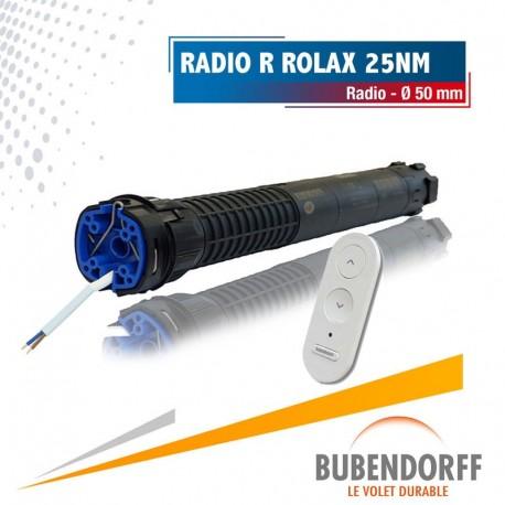 Moteur Bubendorff Radio R Rolax - 25nm/16trs Ø50mm