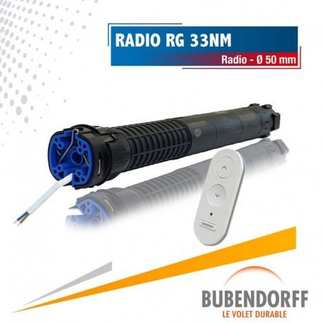 Moteur Bubendorff Radio RG - 33nm/16trs Ø50mm