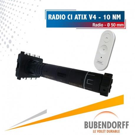 Moteur Bubendorff radio CI ATIX v4 - 10 Nm