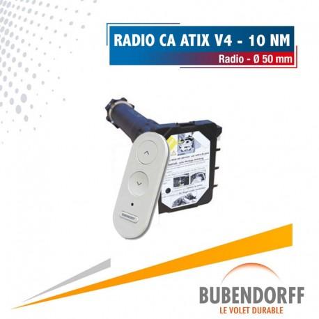 Moteur Bubendorff radio CA ATIX v4 - 10 Nm