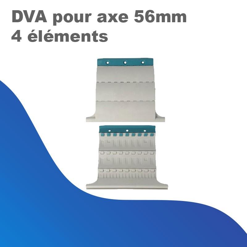 DVA pour axe 56 mm (4 éléments)