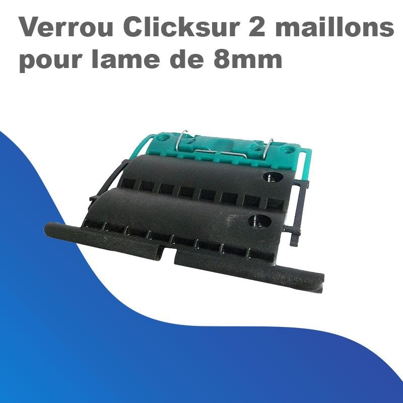 Verrou Clicksur 2 maillons pour lame de 8mm