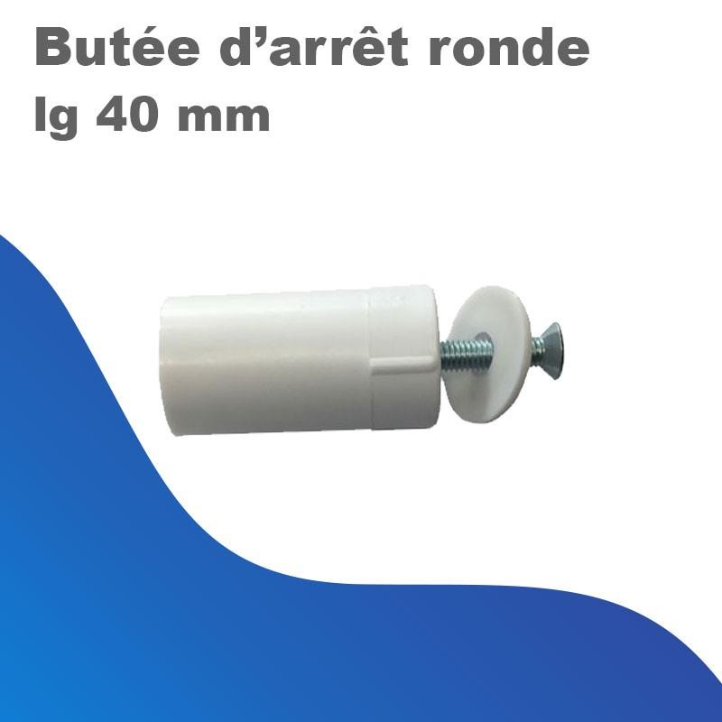 Butée d'arrêt ronde - lg 40 mm