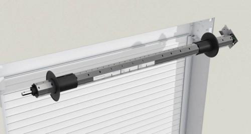 Kit de motorisation dans tube de 60 Well'com 35Nm pour porte-fenêtre