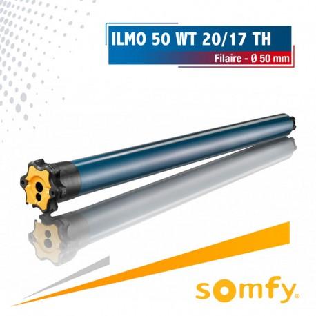 Moteur Somfy ILMO 50 WT 20/17 TH - Tête étroite