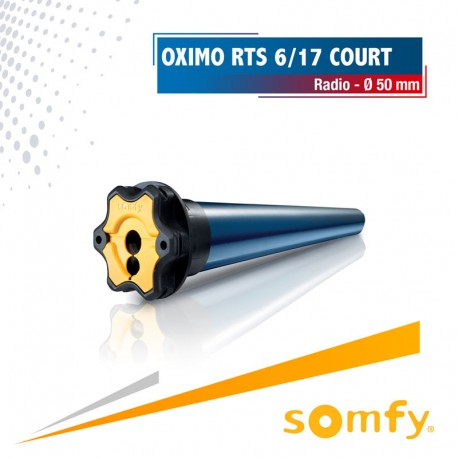 Moteur Somfy OXIMO RTS COURT 6/17