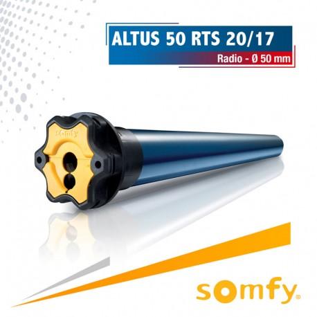 Moteur Somfy ALTUS 50 RTS 20/17