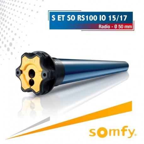 Moteur Somfy S et SO RS100 io 15/17