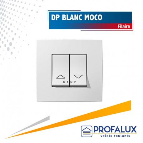 Double poussoir blanc pour Moco