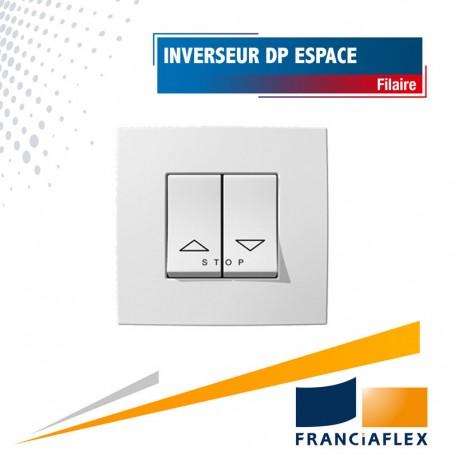 Inverseur double poussoir  Espace