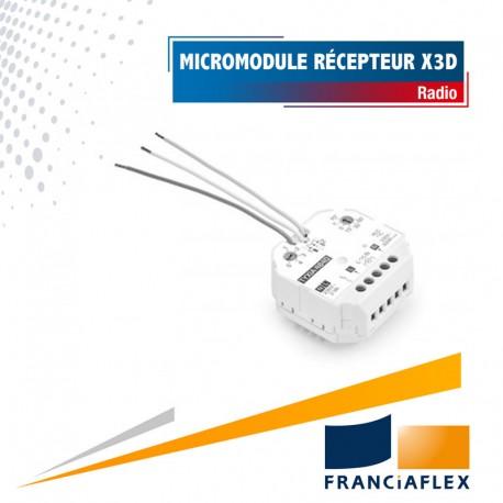 Micromodule récepteur pour éclairage avec variation X3D