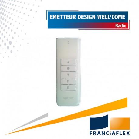 Émetteur radio Franciaflex individuel Design - Well'com X2D-X3D - 1 canal - Monodirectionnel
