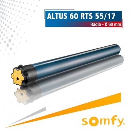 Moteur Somfy ALTUS 60 RTS 55/17