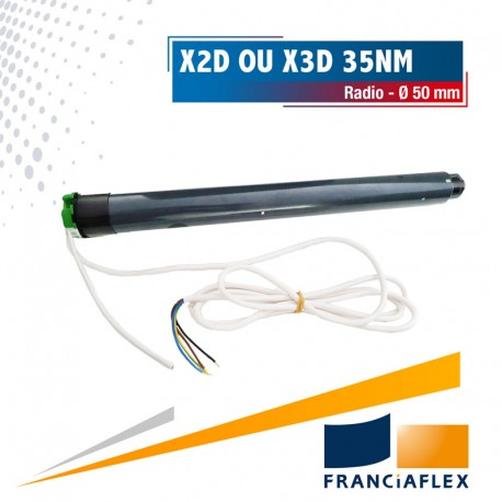 Moteur Franciasoft Radio Well'Com auto-configurable X2D ou X3D 35 Nm