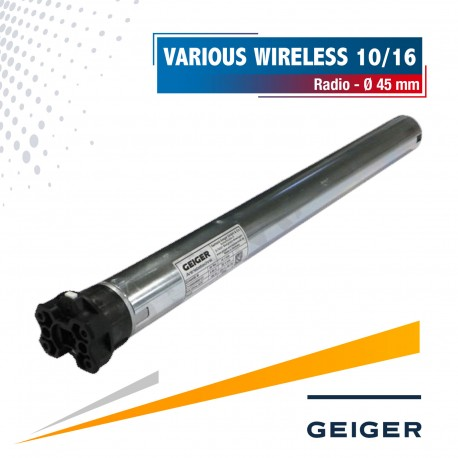 Moteur radio Geiger Various Wireless Ø45 10/16
