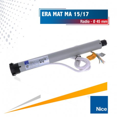 Moteur radio Nice Era Mat MA Ø45 15/17