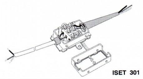 Boîtier de connexion étanche ip44 - MPM iSet301