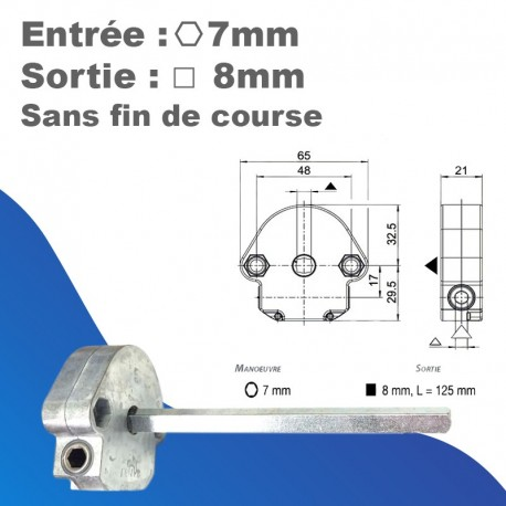 Treuil Bubendorff 1/6 SFC